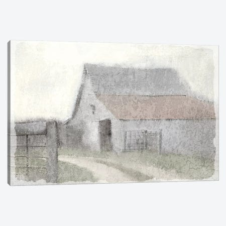 To the Barn Canvas Print #KAL22} by Kimberly Allen Canvas Art Print