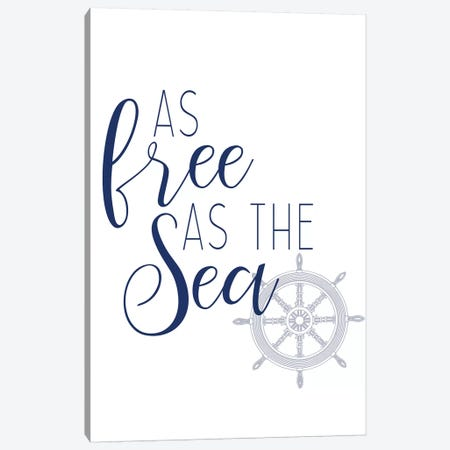 Adventures at Sea IV Canvas Print #KAL231} by Kimberly Allen Canvas Print