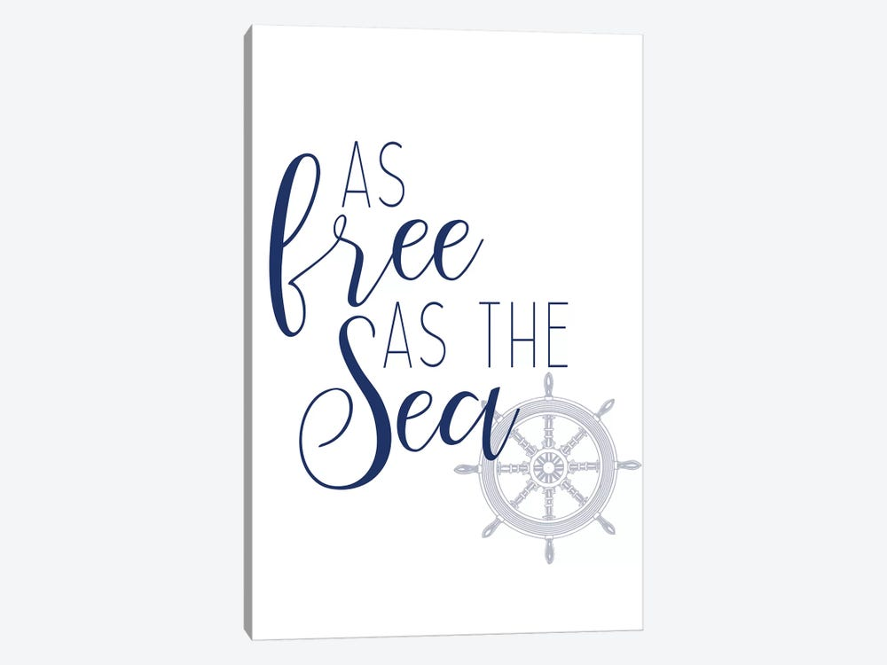Adventures at Sea IV 1-piece Canvas Art