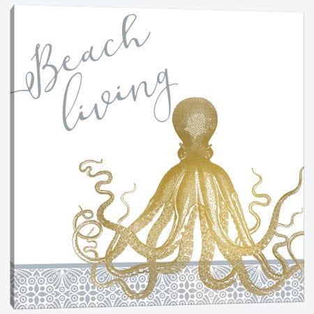 Azure Coastal I Canvas Print #KAL237} by Kimberly Allen Canvas Artwork