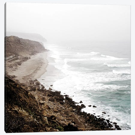 Coastline Canvas Print #KAL244} by Kimberly Allen Canvas Print