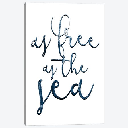 Free as the Sea I Canvas Print #KAL252} by Kimberly Allen Canvas Print