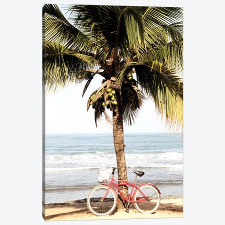Ride to the Beach Canvas Print #KAL266} by Kimberly Allen Canvas Art Print