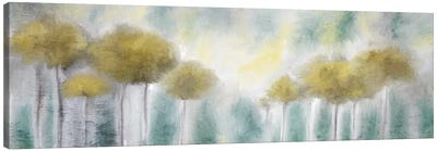 Yellow Grove Canvas Art Print