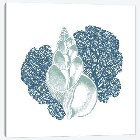 Sea Blues II Canvas Print #KAL274} by Kimberly Allen Canvas Art