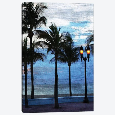 Sunset at the Beach II Canvas Print #KAL279} by Kimberly Allen Art Print