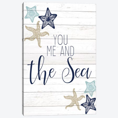The Sea I Canvas Print #KAL281} by Kimberly Allen Canvas Wall Art