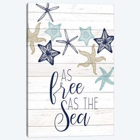 The Sea II Canvas Print #KAL282} by Kimberly Allen Canvas Wall Art