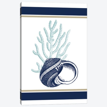 The Sea II Canvas Print #KAL283} by Kimberly Allen Canvas Wall Art
