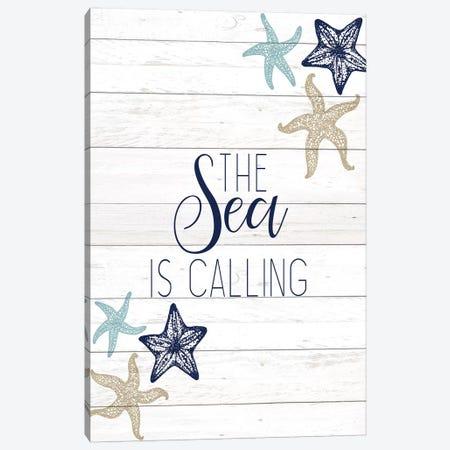 The Sea III Canvas Print #KAL284} by Kimberly Allen Art Print