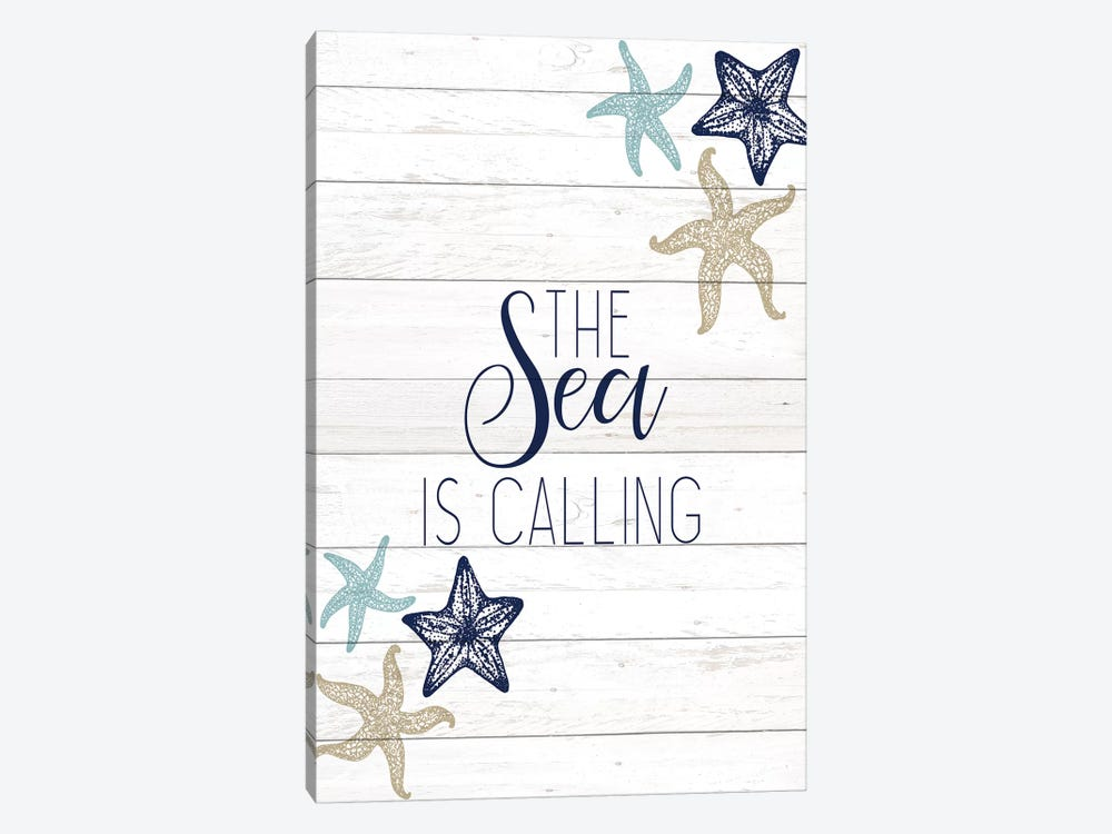 The Sea III 1-piece Canvas Wall Art