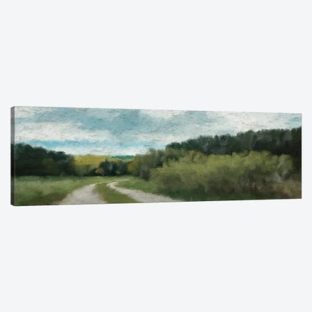 Morning Walk Canvas Print #KAL28} by Kimberly Allen Art Print