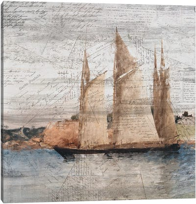 Sailing I Canvas Art Print
