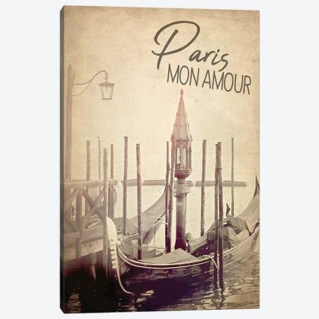 Gondola Paris III Canvas Print #KAL305} by Kimberly Allen Canvas Wall Art