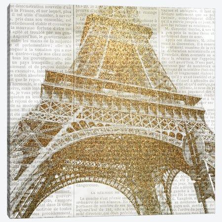 Love Paris 2 Canvas Print #KAL308} by Kimberly Allen Art Print