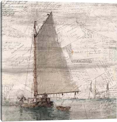 Sailing II Canvas Art Print