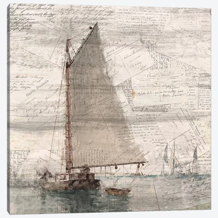 Sailing II Canvas Print #KAL30} by Kimberly Allen Canvas Wall Art
