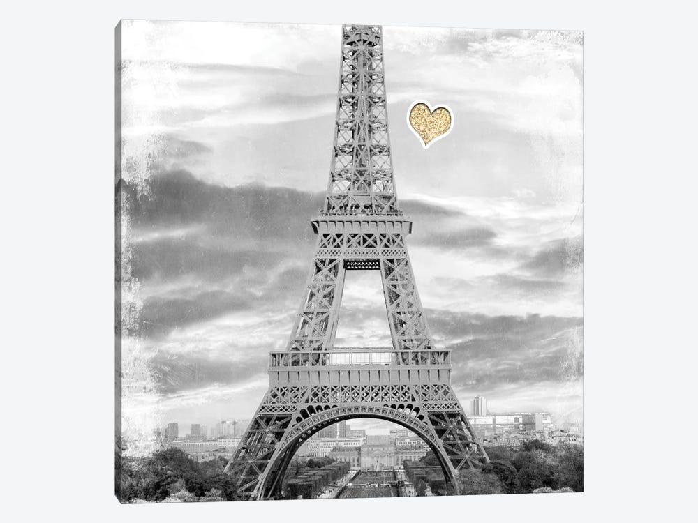 Meet Me in Paris 2 by Kimberly Allen 1-piece Canvas Art