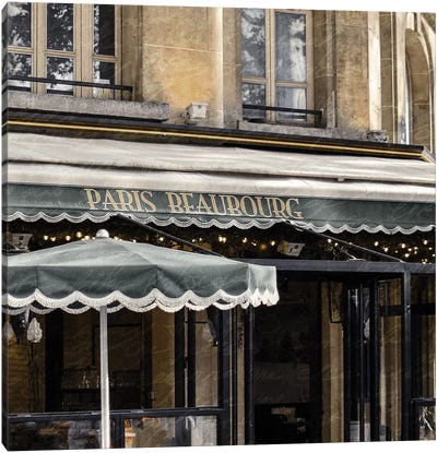 Paris Cafe I Canvas Art Print