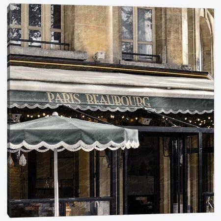 Paris Cafe I Canvas Print #KAL323} by Kimberly Allen Canvas Print