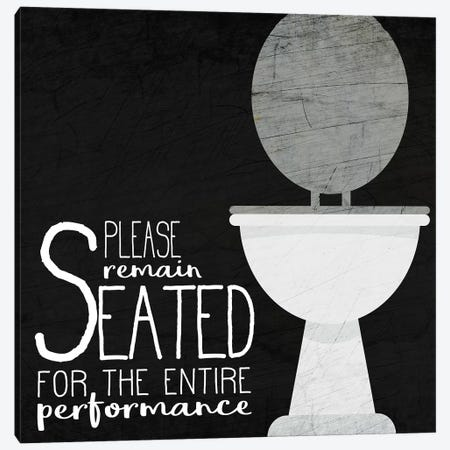 Seated Canvas Print #KAL331} by Kimberly Allen Canvas Art