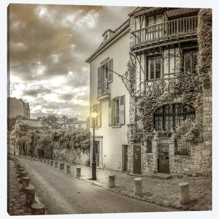Streets of Paris 3 Canvas Print #KAL344} by Kimberly Allen Canvas Wall Art