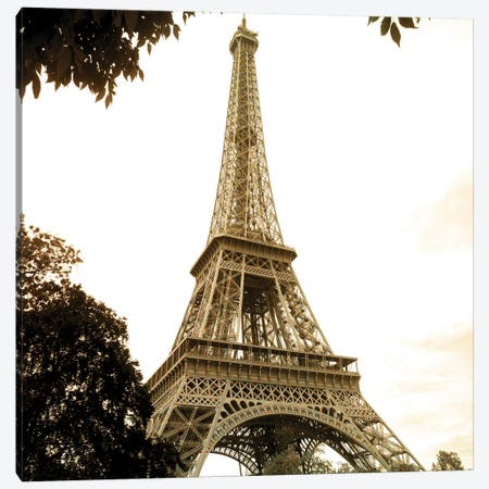 There is always Paris 1 Canvas Print #KAL345} by Kimberly Allen Canvas Artwork