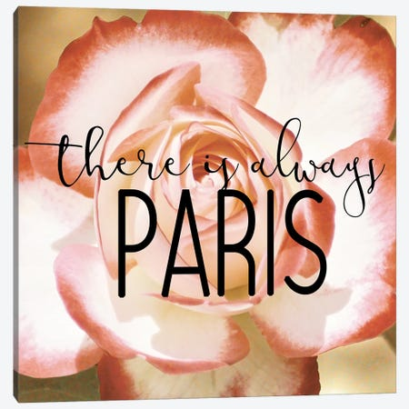 There is always Paris 2 Canvas Print #KAL346} by Kimberly Allen Canvas Artwork