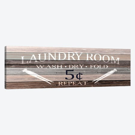 Wash Dry Fold Canvas Print #KAL351} by Kimberly Allen Canvas Art