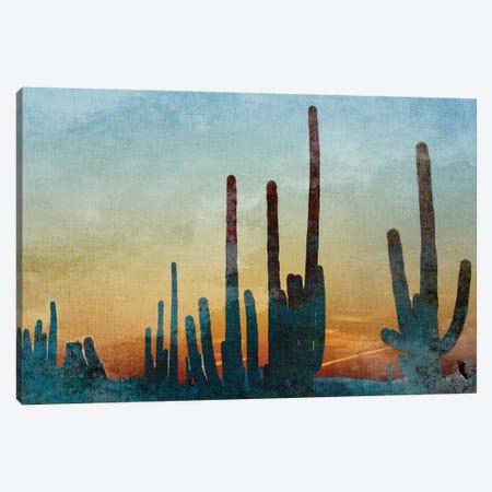 Saguaro Cactus Canvas Print #KAL353} by Kimberly Allen Canvas Artwork
