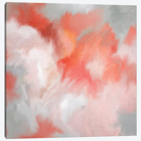 Coral Passion Canvas Print #KAL355} by Kimberly Allen Art Print
