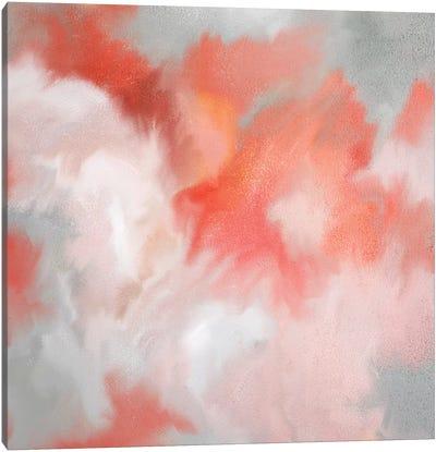 Coral Passion Canvas Art Print