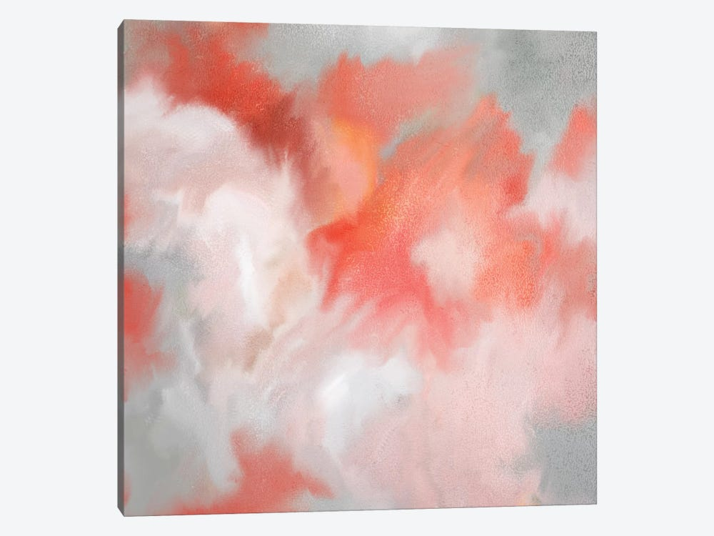 Coral Passion by Kimberly Allen 1-piece Canvas Art Print