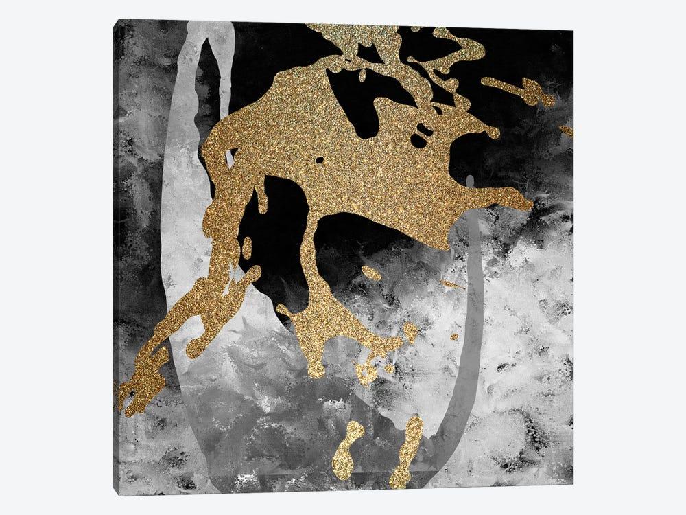 Gold Splash II by Kimberly Allen 1-piece Canvas Art Print