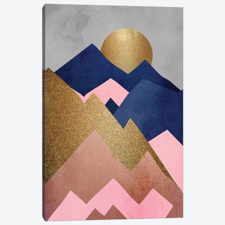 Mountain Range I Canvas Print #KAL358} by Kimberly Allen Canvas Wall Art