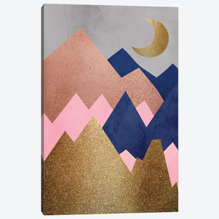 Mountain Range II Canvas Print #KAL359} by Kimberly Allen Canvas Wall Art