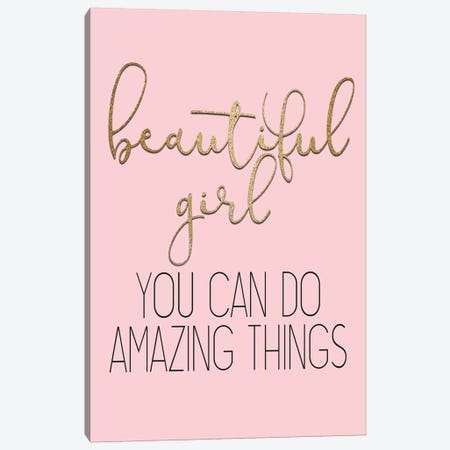 Amazing Things Canvas Print #KAL368} by Kimberly Allen Canvas Print