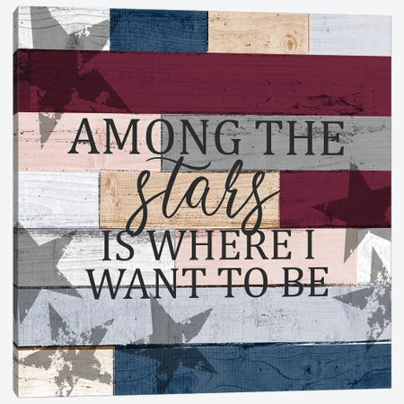 Among the Stars Canvas Print #KAL369} by Kimberly Allen Canvas Art Print