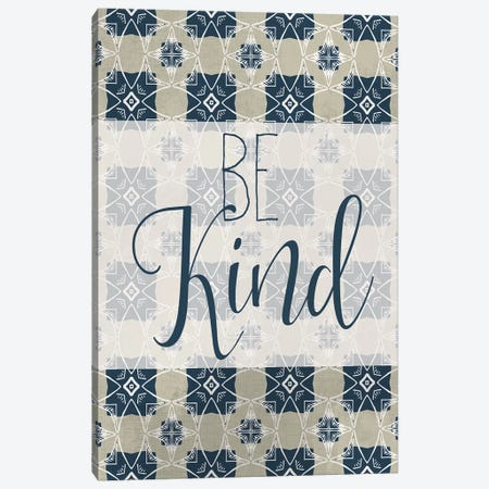 Be Kind Canvas Print #KAL376} by Kimberly Allen Art Print