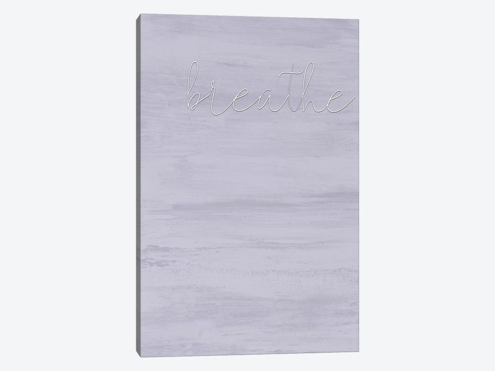Breathe by Kimberly Allen 1-piece Canvas Wall Art