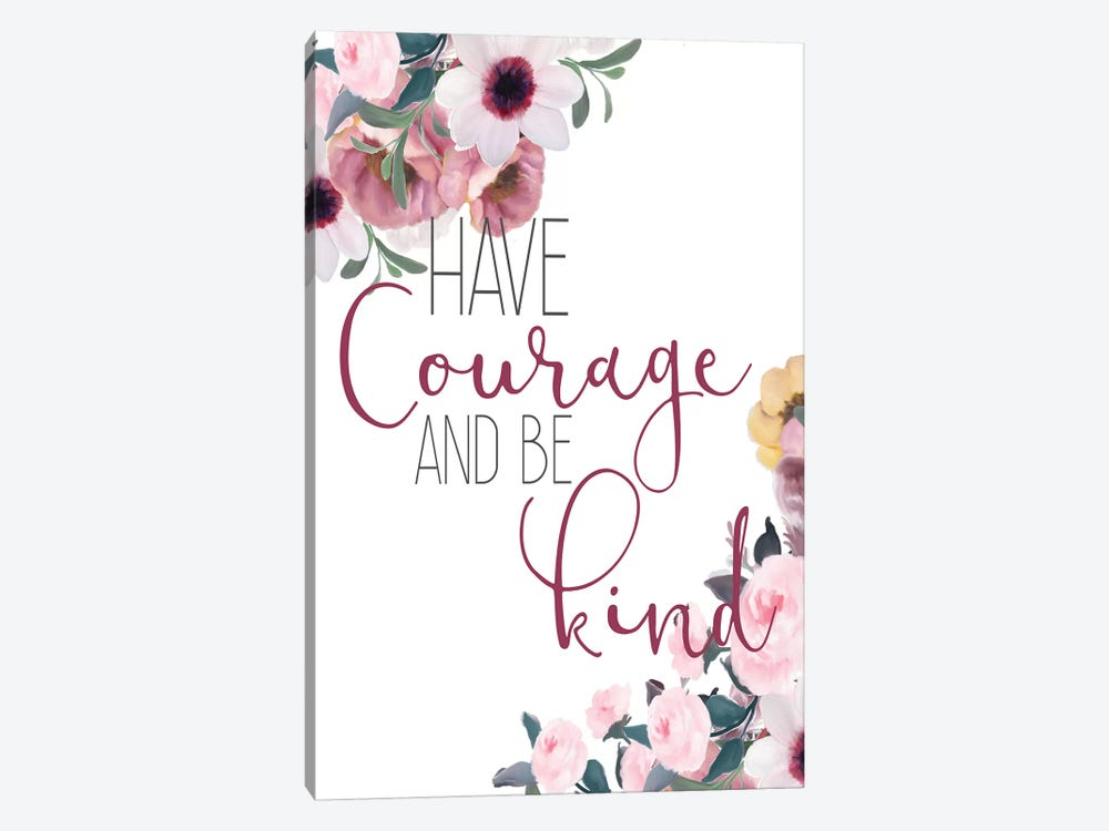 Courage and Truth I by Kimberly Allen 1-piece Canvas Wall Art
