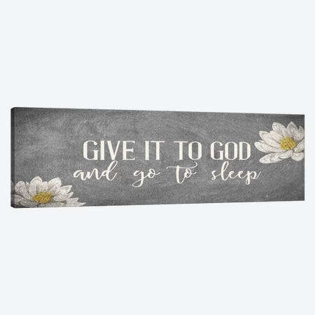 Give It II Canvas Print #KAL410} by Kimberly Allen Canvas Art Print
