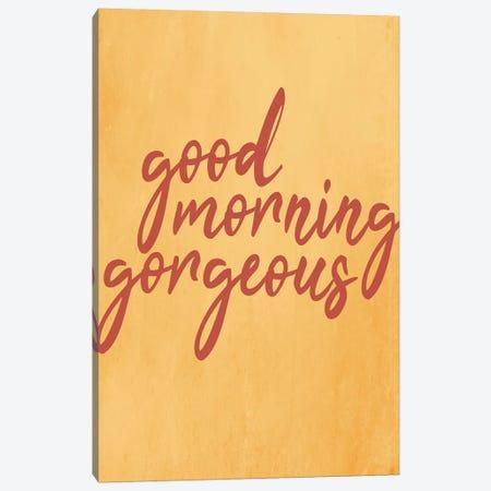 Good Morning I Canvas Print #KAL412} by Kimberly Allen Canvas Art Print