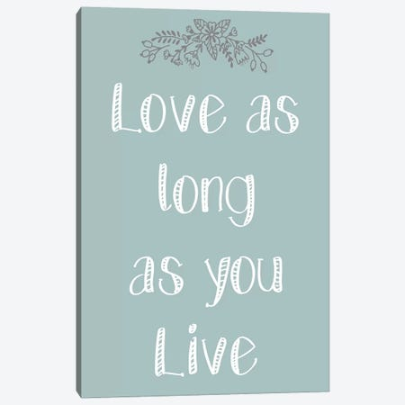 Laugh As Much II Canvas Print #KAL422} by Kimberly Allen Canvas Art