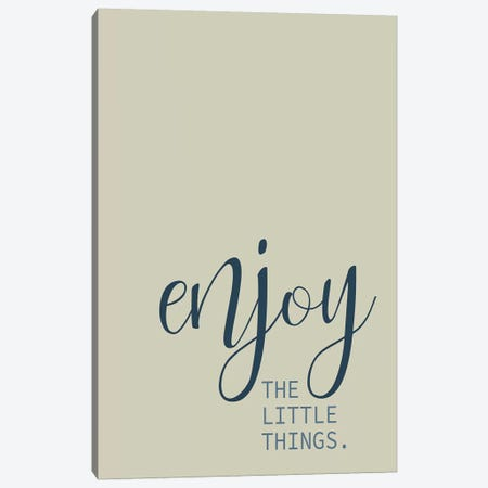 Live Everyday II Canvas Print #KAL428} by Kimberly Allen Canvas Artwork