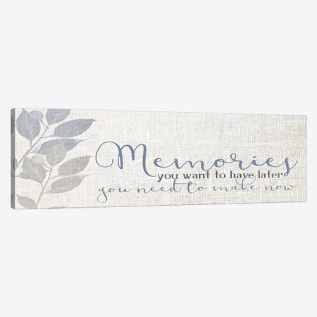 Memories IV Canvas Print #KAL435} by Kimberly Allen Canvas Artwork