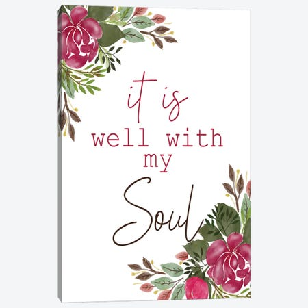 My Soul 3-Piece Canvas #KAL437} by Kimberly Allen Canvas Art