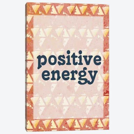 Positive Energy Canvas Print #KAL442} by Kimberly Allen Canvas Artwork