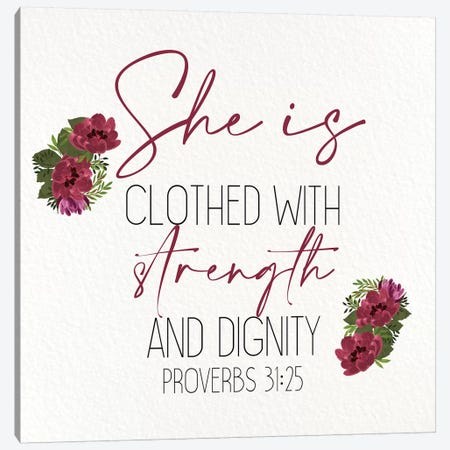 She Is Clothed II Canvas Print #KAL449} by Kimberly Allen Canvas Wall Art