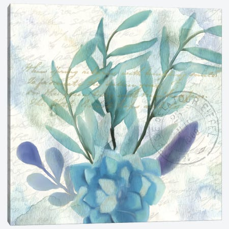 Watercolor Floral I Canvas Print #KAL44} by Kimberly Allen Canvas Artwork